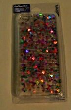 New IPod Touch 5/6 Cover Phone Protector Sparkly Hearts from Claire's