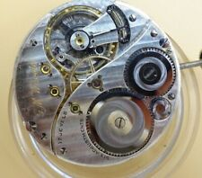 G.M Wheeler Elgin movement dial, hands 17 Jewel plenamente función for parts (z38)
