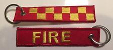 Fire Brigade Keyring WA SA NT QLD NSW Vic Tas.