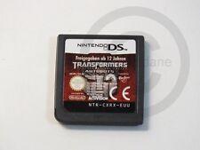 !!! Nintendo DS jeu transformers revenge of the ne s'appliquent module mais bien!!!
