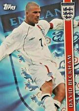 David Beckham Topps England 2002 #E5 FOIL CARD