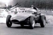 Tony Brooks Vanwall Winner German Grand Prix 1958 Signed Photograph 2