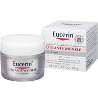 Eucerin Sensitive Skin Experts Q10 Anti-Wrinkle Face Creme 1.70 oz (Pack of 6)