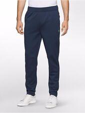 Calvin Klein Men's Performance Fleece Navy Blue Warmup Pants Size Small