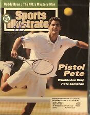 Pete Sampras Signed Sports Illustrated Wimbledon Tennis 7/11/94 Issue SI HOF