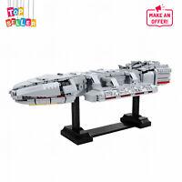 Ship Model Building Blocks Set Toys 2164 PCS Bricks for Battlestar Galactica