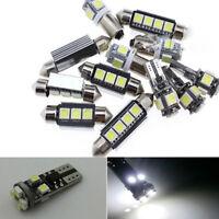 18Pcs Error 12V Car Interior Bulb LED Light Package Kit For Volvo XC90 2003-2011