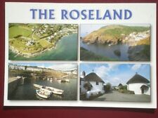 POSTCARD CORNWALL THE ROSELAND PENINSULA