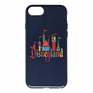 NEW Blue Disney Disneyland Castle Logo D-Tech Apple iPhone 6/7/8 Hard Case