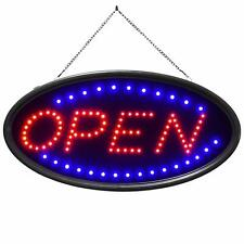 Doingart Led Open Sign, 19x10 Business Neon Open Sign with 2 Lighting Modes Stea
