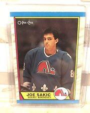 1989-90 O-Pee-Chee Joe Sakic Rookie Card  #116 Book Value $20