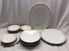 Very Nice 20 Pieces H&C Selb Bavaria Germany Heinrich Gold Trim Plates Bowls Etc