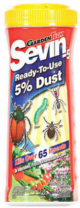 GardenTech SEVIN 5% Dust Bug Insect Killer Pesticide - 1 Lb.