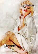 ACEO ATC Sketch Card - Marilyn Monroe
