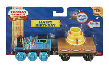 HAPPY BIRTHDAY THOMAS & MUSICAL CAKE CAR Thomas WOODEN Railway Train NEW IN BOX