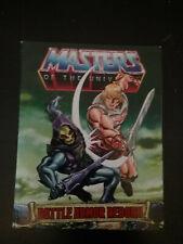 MOTU Masters Origins Battle Armor Reborn Mini Comic ONLY Mattel
