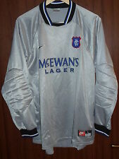 Glasgow Rangers FC Nike 1990's size L Shirt Jersey Football Maglia Camiseta