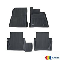 NEW GENUINE FORD FIESTA 2017- FRONT AND REAR BLACK RUBBER FLOOR MATS SET RHD
