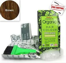 Colour Me 100% Certified Organic Hair Colour by Radico - Brown