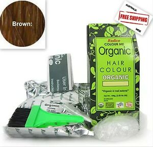 Radico Colour Me Hair Dye 100% Certified Organic  - Brown