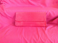 Tiffany and Fred Red Bag Cowhide Leather Cuir de Vachette clutch Purse