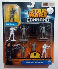 STAR WARS COMMAND,9 FIGURES SET,IMPERIAL ASSAULT,UNOPENED