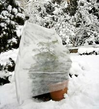 Garden Plant Fleece Winter Frost Protection - Large Plant Protection Cover White