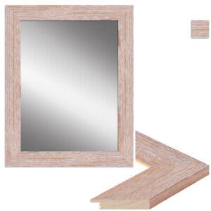 WANDStyle Spiegel H380 aus Massivholz - Klassisch, Landhaus Stil in Eiche Sonoma