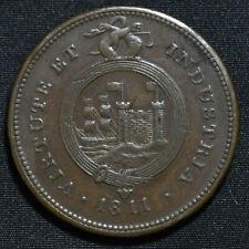 1811 Bristol, Somerset, W.522, Bristol & South Wales Penny Token