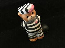 Lucy & Me Prisoner Of Love Girl Bear Ball & Chain Enesco Lucy Rigg 1989