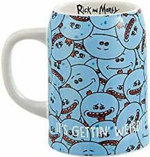 More details for funko rm05954 rick and morty mr. meeseeks beer stein, ceramic, 20 fluid ounces