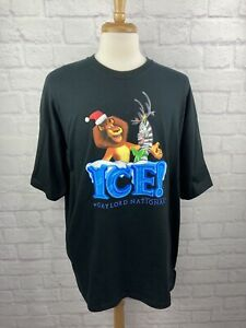 Rare Gildan 2011 Merry Madagascar Ice Dream Works Movie Promo T Shirt 2xl