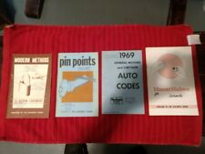 LOT 4 BOOKS Methods for Modern Locksmiths, Pin Points, Money makers, Auto Codes