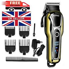 UNISEX PROFESSIONAL ELECTRIC HAIR BEARD TRIMMER AND SHAVER CORDLESS MACHINE