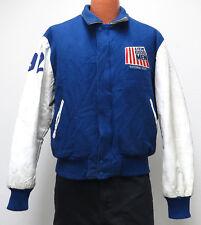vtg A FEW GOOD MEN PLAY 1992 National Tour Varsity Jacket M Wool Leather 90s MED
