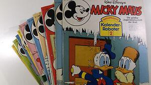 AUSWAHL = Micky Maus Comic Hefte 1982 Nr. 1 - 52 mit / ohne Beilagen
