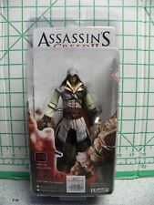 2010 NECA Assassins Creed 2 Action Figure Standard Ezio White Cloak New
