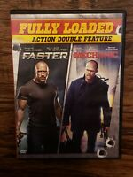 Fully Loaded Faster Mechanic DVD The Rock Billy Bob Thornton Jason Statham Movie