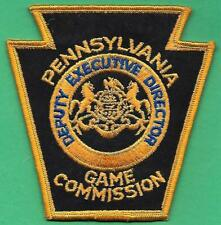 Pa Pennsylvania Game Commission NEW Deputy Executive Director Uniform Patch