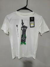 Under Armour Boys Champion Short Sleeve Tee Size YMD White