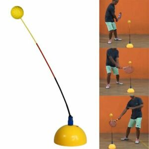 Portable Tennis Trainer Practice Rebound Training Tool Professional Stereotype
