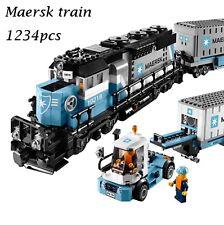 BRAND New Technic Ultimate Series The Maersk Train Set 10219 + PDF Instruction