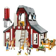 PLAYMOBIL Country Barn With Silo Kids Play 9315