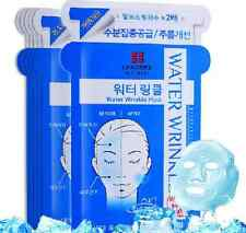 Korean Leaders Mediu Skin Care Beauty Face Mask 10 PICS [Water Wrinkle]