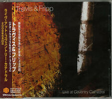 THEO TRAVIS & ROBERT FRIPP-LIVE AT COVENTRY CATHEDRAL-JAPAN CD F56