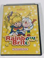 New Sealed Rainbow Brite DVD Complete Original Series 2 Disc Set