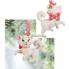 NEW 2015 Disney Store The Aristocats MARIE Sketchbook Christmas Ornament BOXED