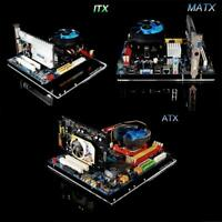 Mini ITX MATX ATX PC Test Bench Air Case Bare Open Frame Support Graphics Card