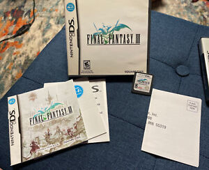 Final Fantasy III [3] (Nintendo DS) [Complete in box] tested