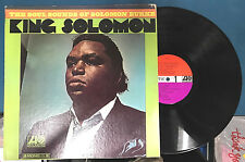 """SOLOMON BURKE """"King Solomon"""" Mono 12"""" Promo Funk Soul LP"""